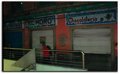 café El Moro closed
