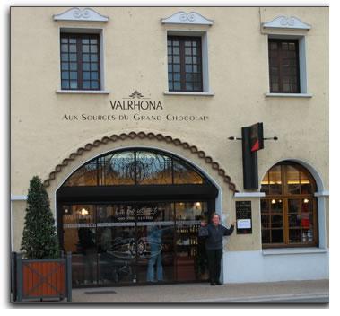 Valrhona factory store